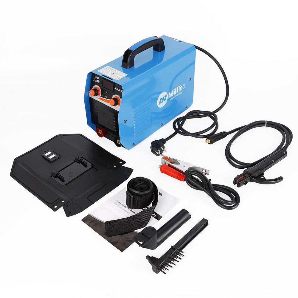 300A Elektro-Schweiß gerä t Inkl. Schweiß schild, Drahtbü rste und Schlackenhammer, Inverter Schweiß gerä t Schweissmaschine TIG MIG ARC SHIOUCY