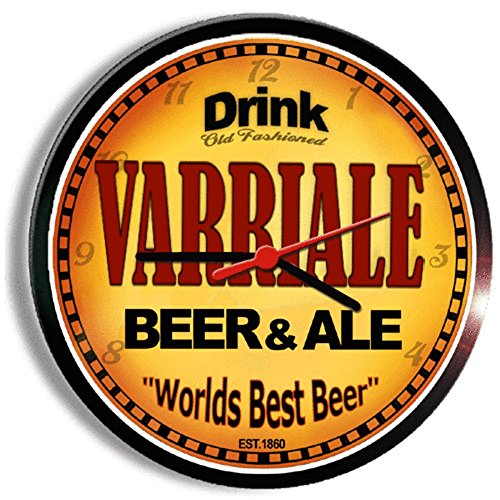 VARRIALE beer and ale cerveza wall clock