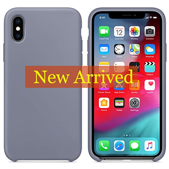 new concept a9eae b7083 Amazon.com: Silicone Case for iPhone X XS Max XR Case for iPhone 7 8 ...