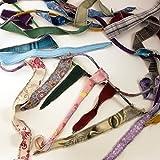Handmade Gypsy Banner, Triangle Hippie Flags, Fabric Rag Garland, Choose Your Length, Bohemian Decor