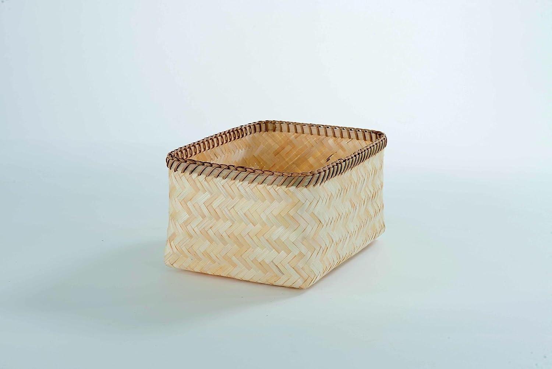 Compactor Zebra Bamboo Baskets, Set of 3, Black/Natural C.I.E. Europe B00G69LQQG RAN6434