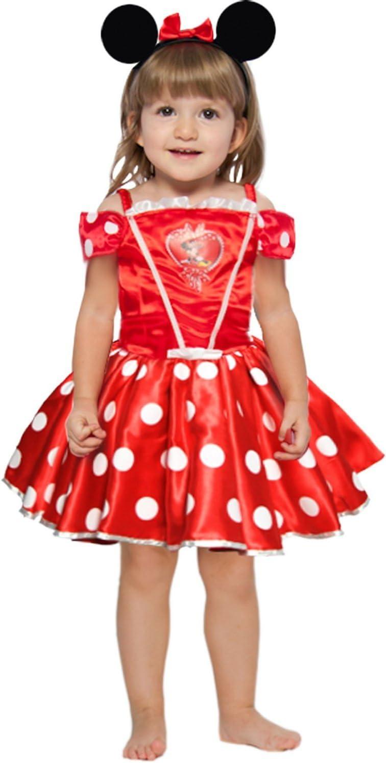 Disfraz de Minnie de Disney Talla:2 - 3 ans H. 97cm: Amazon.es: Bebé