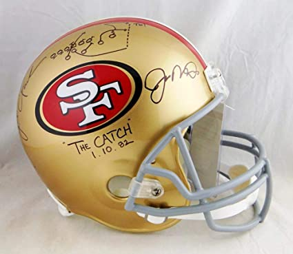 1512a7560c3 Image Unavailable. Image not available for. Color  Joe Montana Dwight Clark  Signed ...