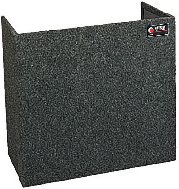 Odyssey CF3630 Carpeted Foldout Stand For Combo Racks And Dj Coffins