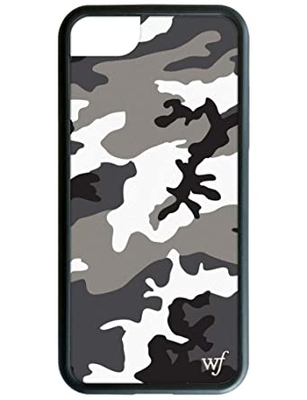 Wildflower Limited Edition I Phone Case For I Phone 6, 7, Or 8 (Grey Camo) by Wildflower