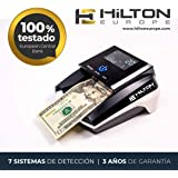 HILTON EUROPE HE-360SD MULTIDIVISA Detector Billetes Falsos Contador Billetes EUR, USD, GBP
