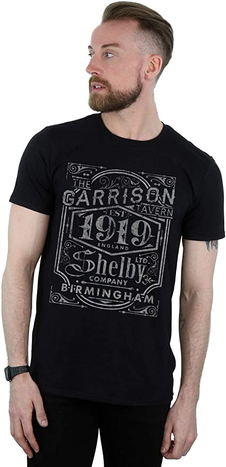 Absolute Cult Peaky Blinders Hombre Garrison Pub Camiseta ...