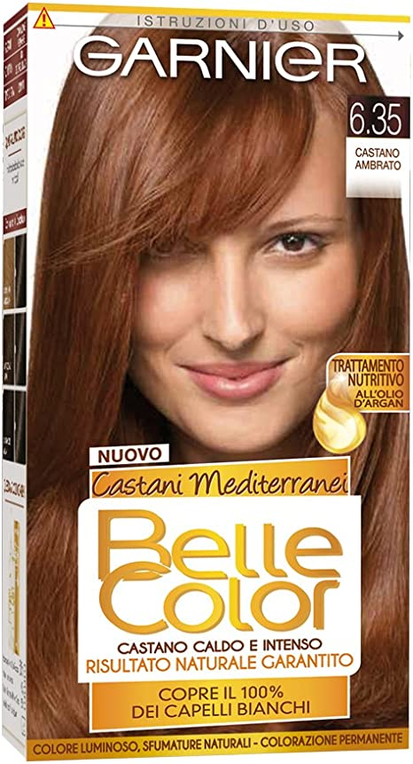 Belle Color 6,35 Castano Ambrato: Amazon.es: Salud y cuidado ...