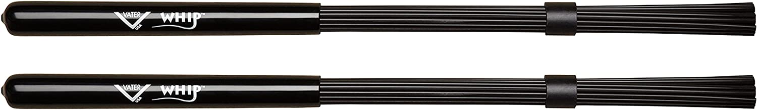 Vater VWHP Whips Multi Rod Sticks with Plastic Handle & Poly Bristles