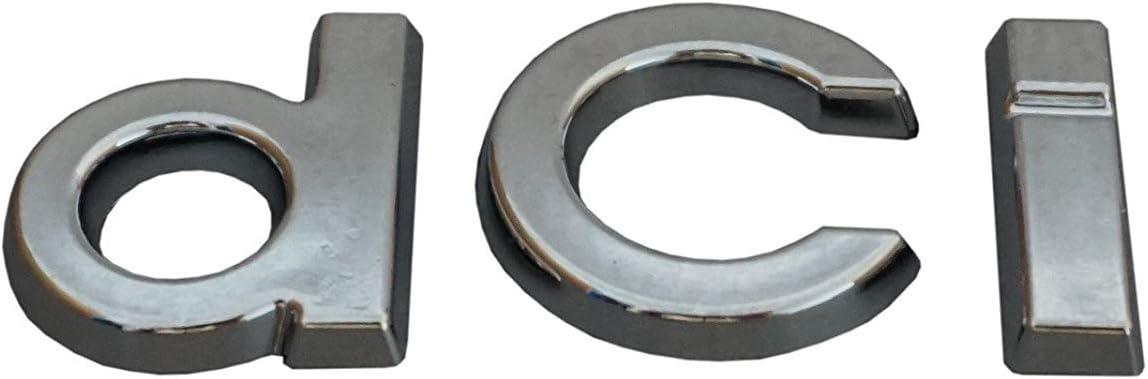 Badge chrom/é dci pour Duster Megane MK3 Clio MK4 FFTH