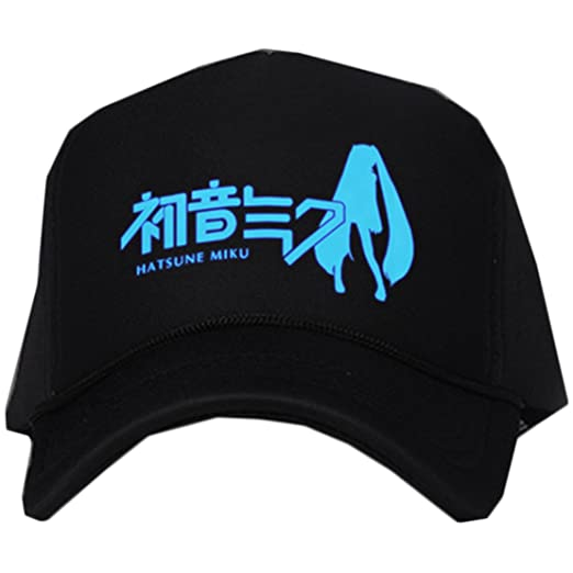 607bffa9c6f Amazon.com  Anime Hatsune Miku Unisex Fashion Hip-hop Night Luminous ...