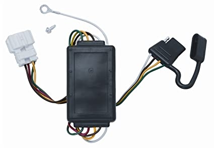 amazon com vehicle to trailer wiring harness connector for 07 11 rh amazon com 1996 Honda CR-V Door Lock Wiring Diagram Honda CR-V Wiring Fog Lights