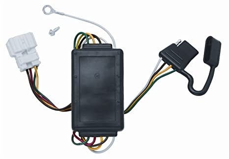 amazon com vehicle to trailer wiring harness connector for 07 11 Honda Motorcycle Trailer Wiring Harness