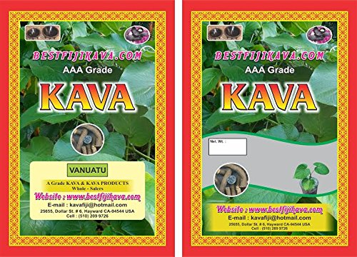 Kava Powder – AAA GRADE VANUATU – 1 LB, Bestfijikava kava Powder Organic kava Anxiety Tea kava supplements for Anxiety
