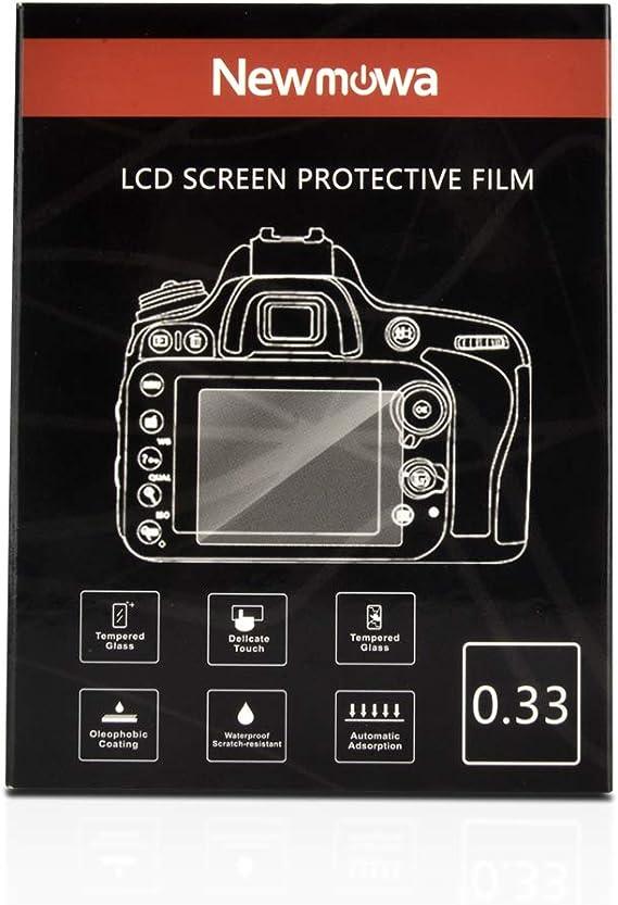Nikon D850 D810 D750 D500 Touch Tiltable Screen Protector Tempered Glass 0.33mm Thickness 9H Hardness for Nikon D850 D810 D750 D500 DSLR Camera 2 Pack
