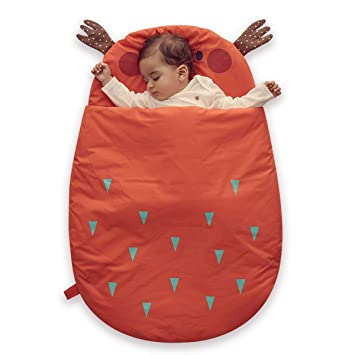 Bebamour Anti Kick Baby Sleeping Bag Safe Nights Cotton Baby Sleep Bag 2.5  Tog 0- cfdb87762