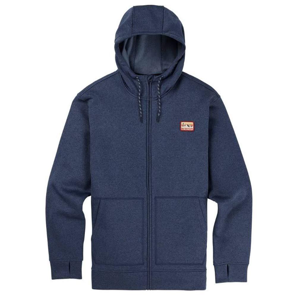 Burton Oak Zip-Hoodie mood indigo heather