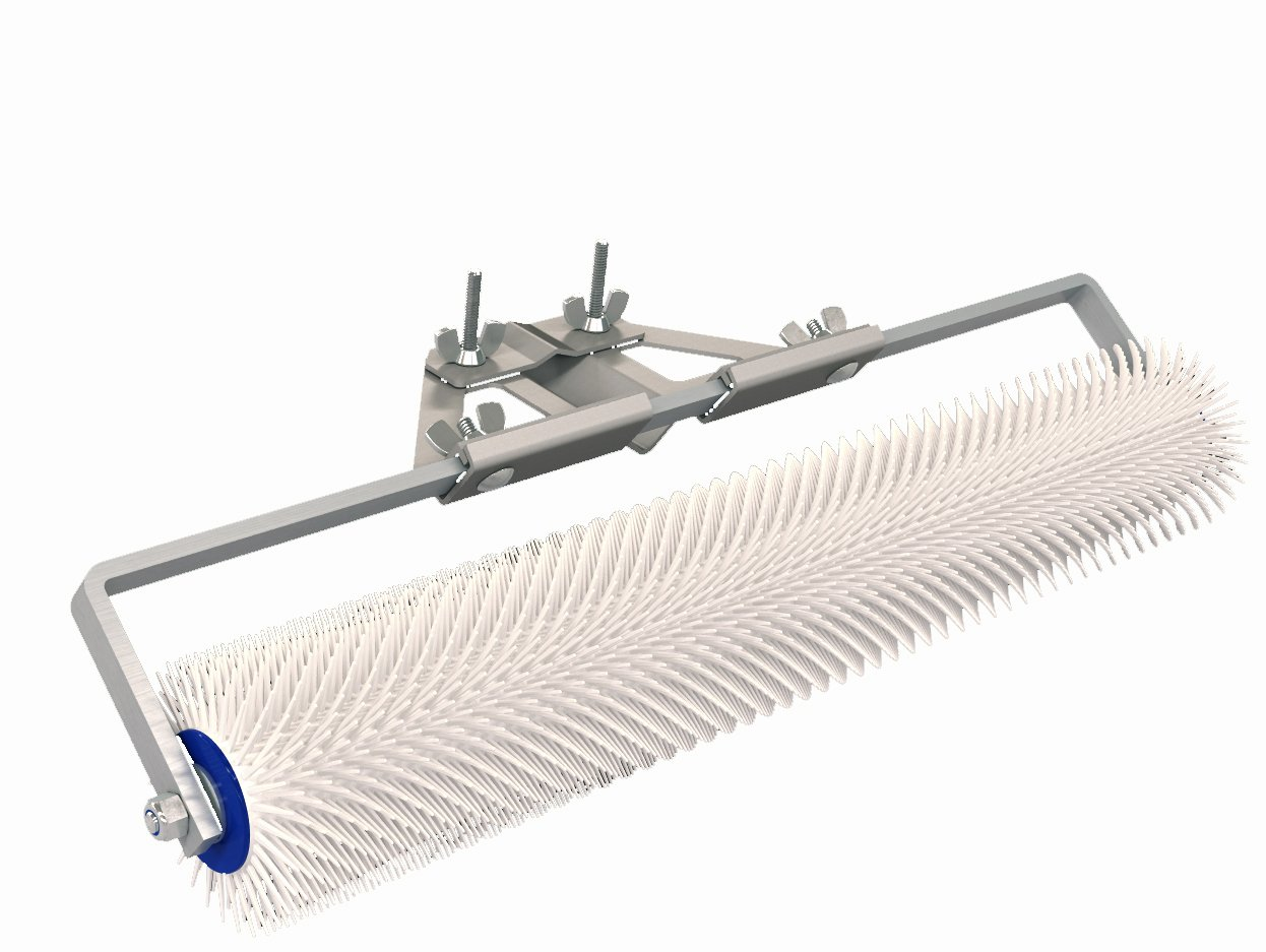 Bon 82-913 Spiked Roller 13-/16'' Plastic 20'' With Bracket by BON