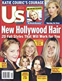 Us Weekly Magazine (November 5, 2001 - Katie Couric, Courteney Cox, Jennifer Aniston, Drew Barrymore),