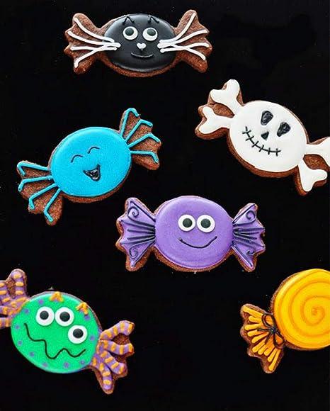 LILIAO Set di Halloween Formine Biscotti - 9 Pezzi - Cappello della Strega 518921e13cc6