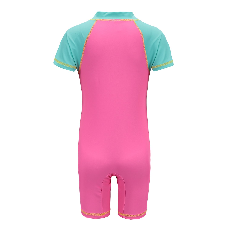 b506f14382 Amazon.com: HowJoJo Girls One Piece Swimsuits Short Sleeve Rash Guard Shirt  Bathing Suits for Girls: Clothing