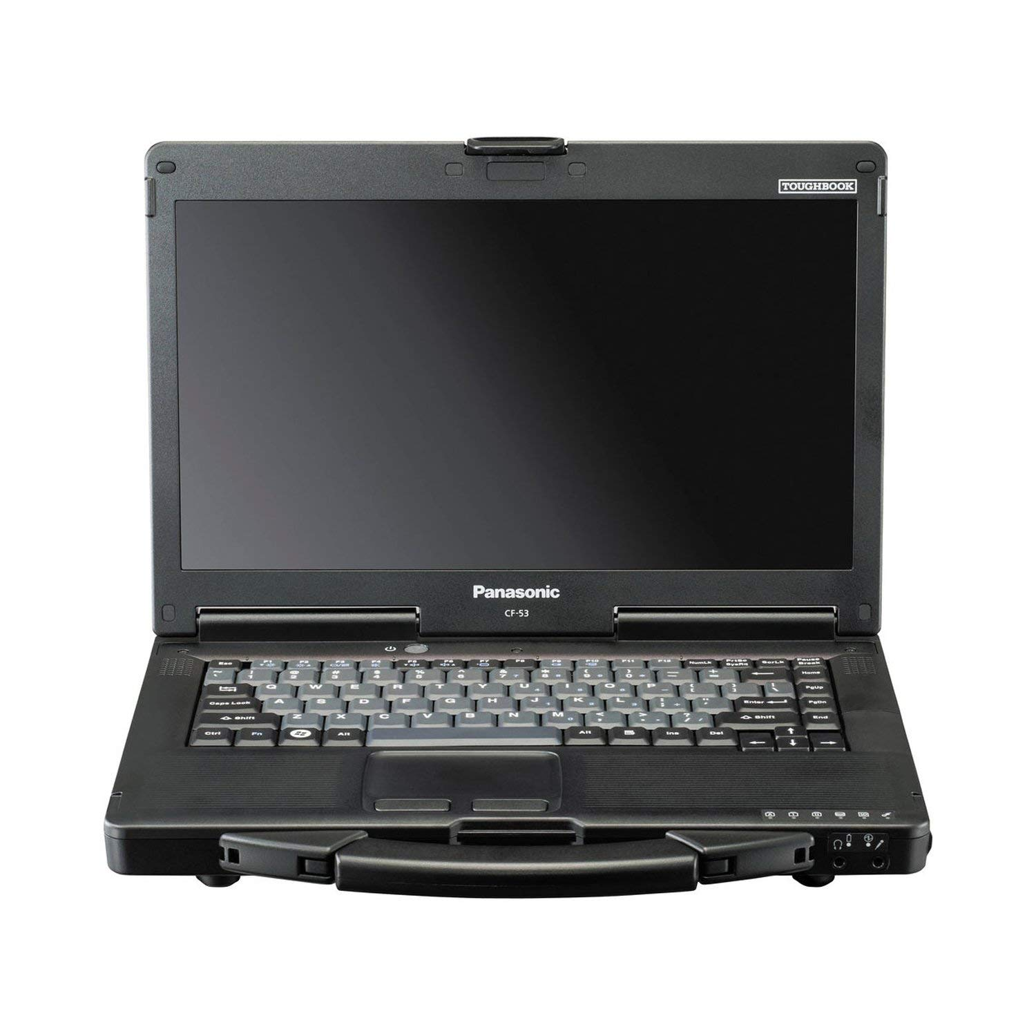 "Panasonic Toughbook CF-53 14"" Notebook Laptop - Intel Core i5-4310U 2.0 GHz, 8GB Memory, 256GB SSD, Windows 10 Pro (Renewed)"