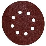 DEWALT DW4309 5-Inch 8 Hole 80 Grit Hook and Loop Random Orbit Sandpaper (25-Pack)
