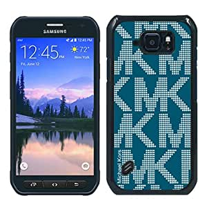 Great Quality M-K Samsung Galaxy S6 Active Case ,Newest M-K 1 Black Samsung Galaxy S6 Active Cover Case Unique And Beautiful Designed Phone Case