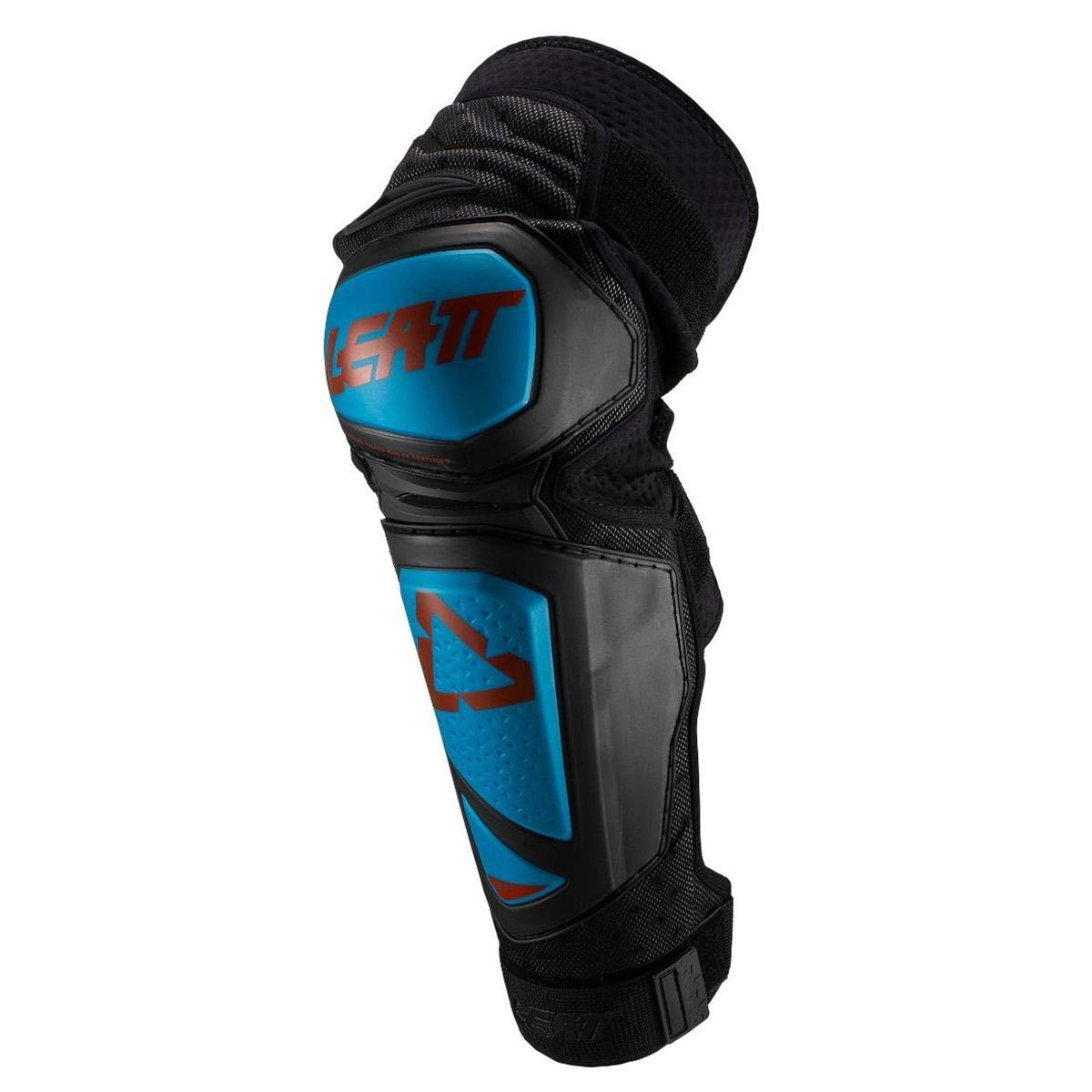Leatt 3DF Hybrid Ext Adult Off-Road BMX Cycling Knee & Shin Guard - Black/Large/X-Large 5019400721