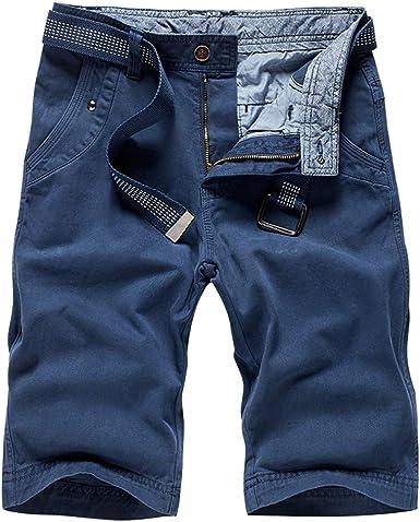 Shorts Playa Hombre Verano Outdoors Flojo Ocasional Color Puro ...