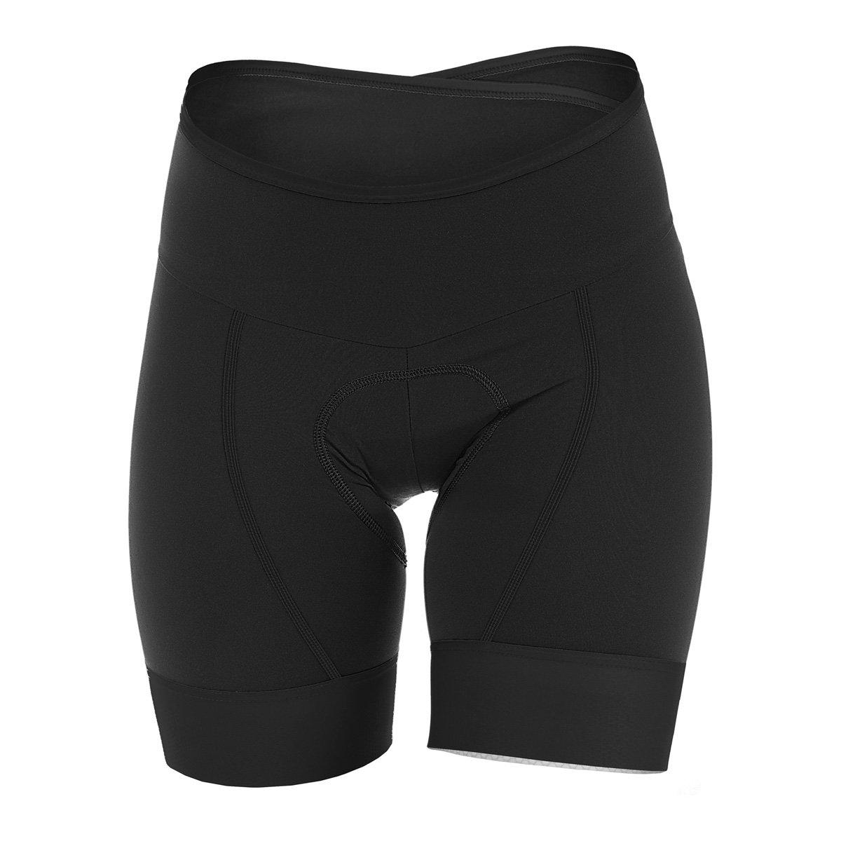 Giordana Lungo Short – Women 's B079NFSLCP Large|ブラック ブラック Large