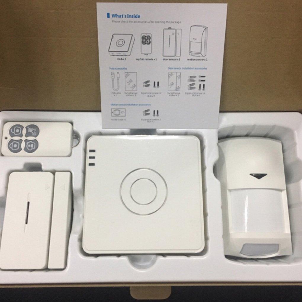 Broadlink S2 Hub Kit Detector de alarma de seguridad 433HMz ...