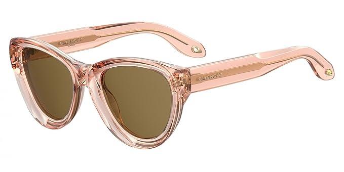 Givenchy GV 7073/S 70 9R6 Gafas de Sol, Rosa (Salmon/Brown ...