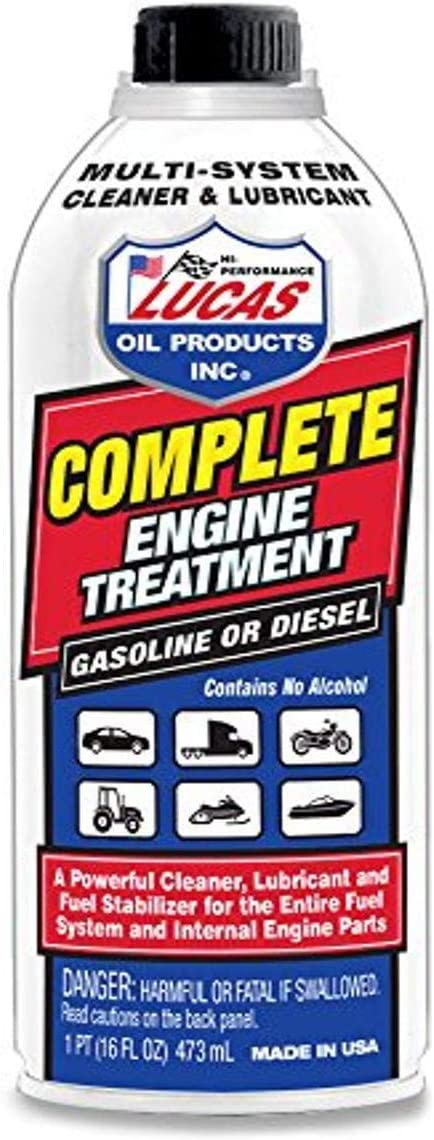 Lucas Oil Products Luc10016 Komplett Motorbehandlung 450 Ml 1 Packung Auto