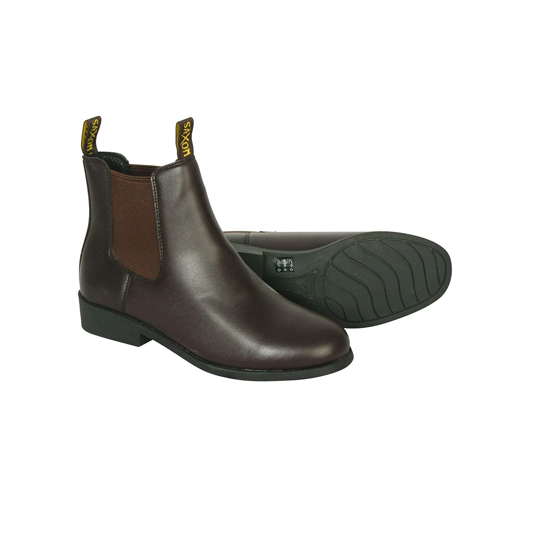 Saxon Unisex Equileather Jodhpur Boots