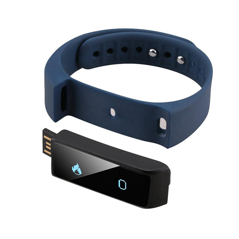 Pulsera Fitness I5 Plus – Fitness Tracker – Smartwatch – Pulsera inteligente para smartphones Android y iOS, podómetro, push mensaje y llamada ...