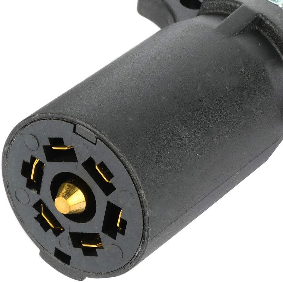 ECCPP Trailer Adapter 7 RV Blade to 7 Way Trailer Plug Adapters