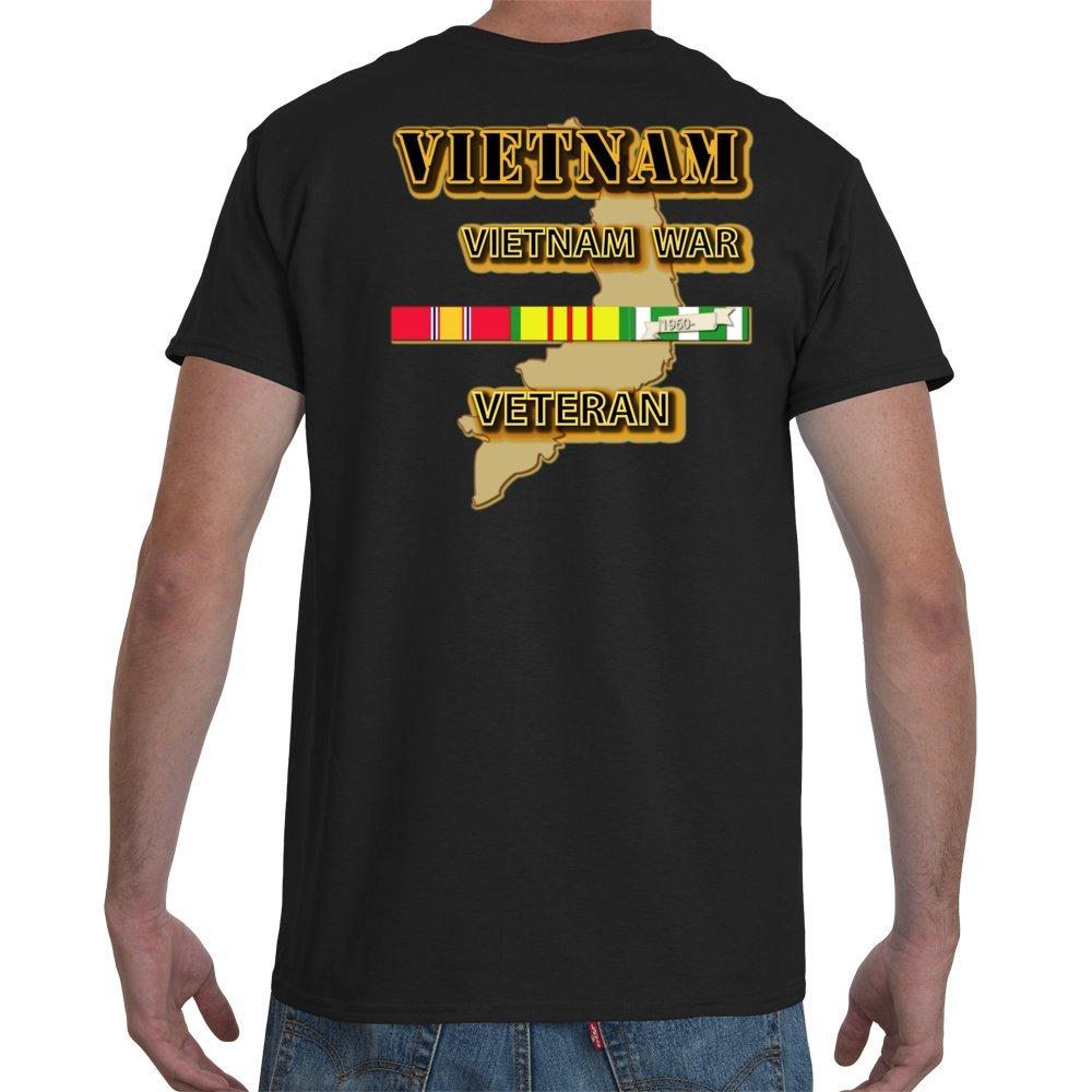 SOF 5th SFG Flash Vietnam Veteran War with text Final Gildan-Black SMALL