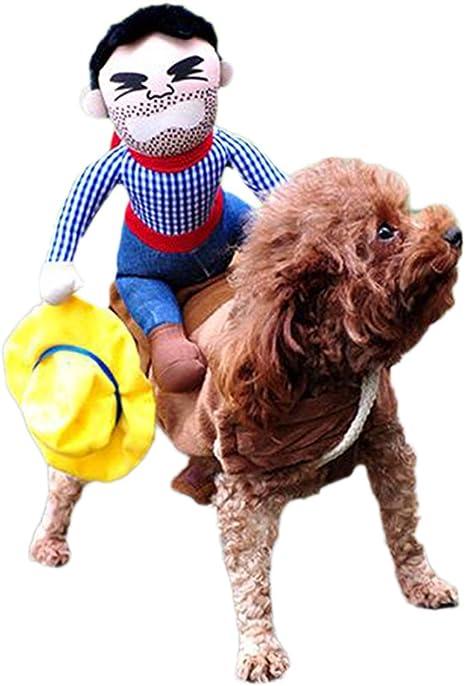 Dairyshop - Disfraz de caballo de equitación para perro, cachorro ...