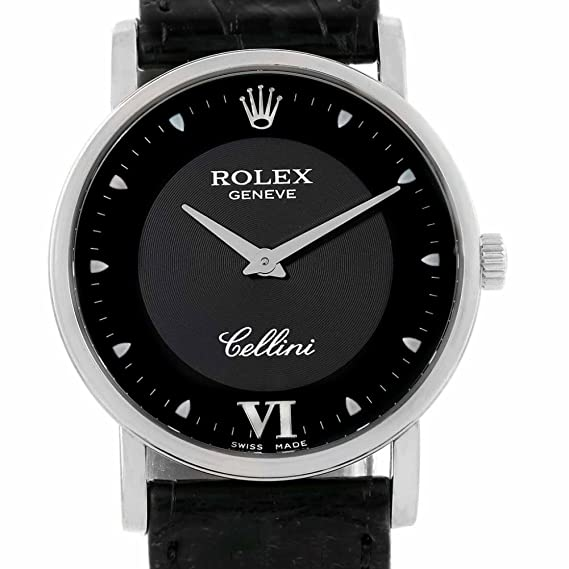 Rolex Cellini automatic-self-wind Mens Reloj (Certificado) de segunda mano