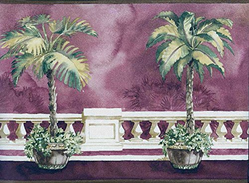 Norwall Architectural Palm Tree Border