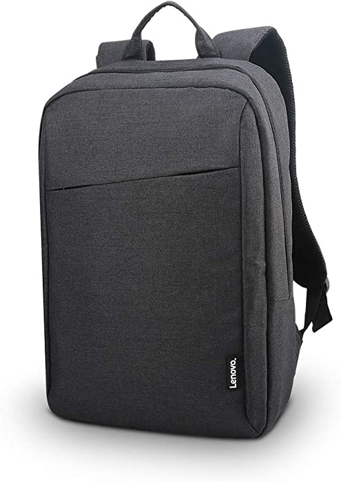 Lenovo Laptop Backpack B210, 15.6-Inch Laptop and Tablet, Durable, Water-Repellent, Lightweight, Clean Design, Sleek for Travel, Business Casual or College, for Men or Women, GX40Q17225