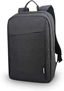 Lenovo Laptop Backpack B210, 15.6-Inch Laptop and Tablet, Durable, Water-Repellent, Lightweight, Clean Design, Sleek for Travel, Business Casual or College, for Men or Women, GX40Q17225, Black