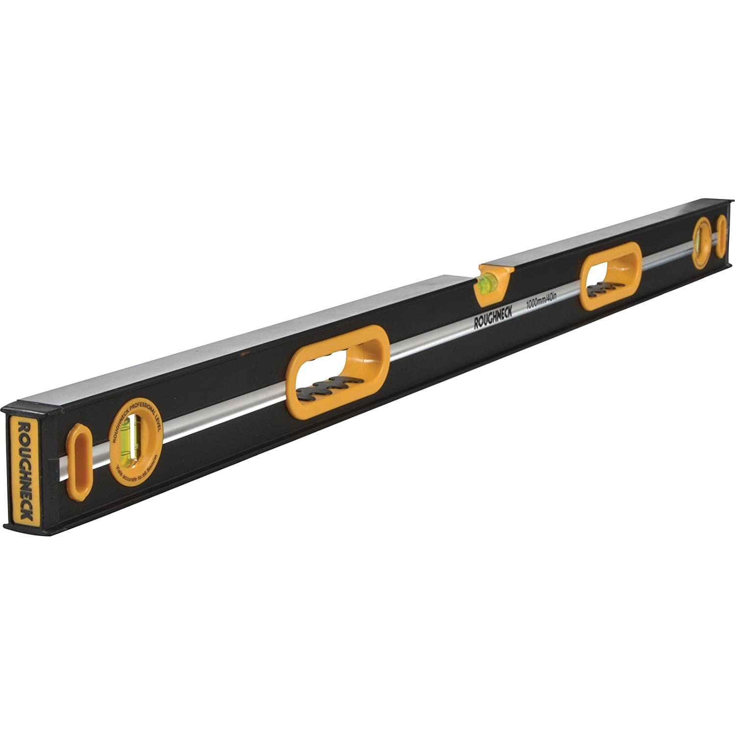 Roughneck ROU43812 Professional Heavy-Duty Spirit Level 120cm (48in), 120 cm