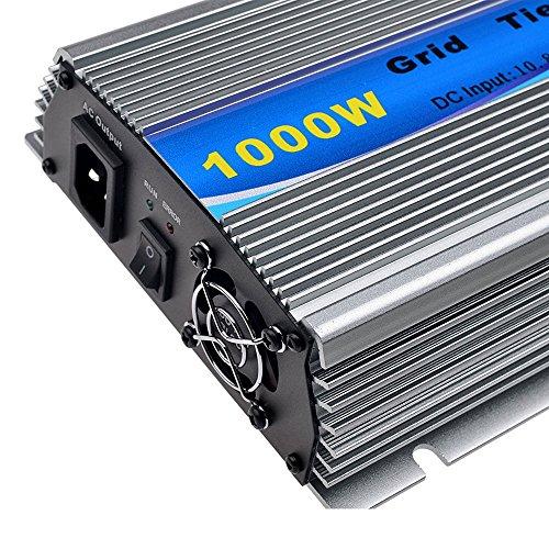 Y&H 1000W Grid Tie Inverter Stackable MPPT Pure Sine Wave DC10.8-30V Solar Input AC90-140V Output for 12V Solar Panel by Y&H (Image #3)