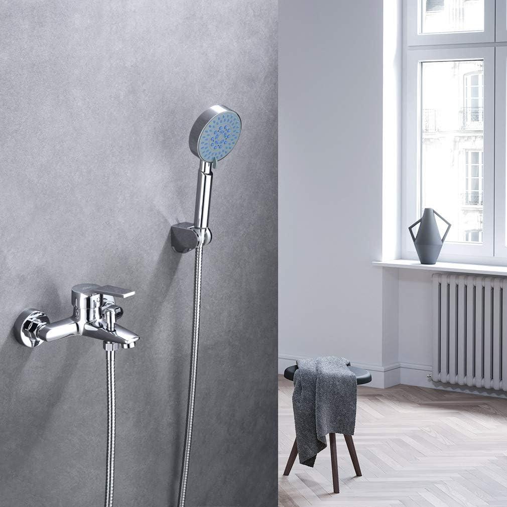 Auralum Set de ducha de bañera classic con ducha de mano de 5 ...
