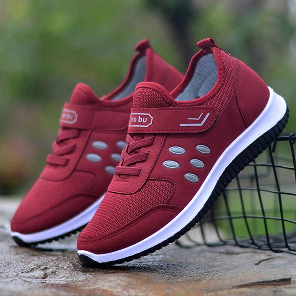 Zapatillas Deportivas De Mujer Running Sneakers Respirable Zapatos Malla Exterior para Color S/óLido Runing Transpirables