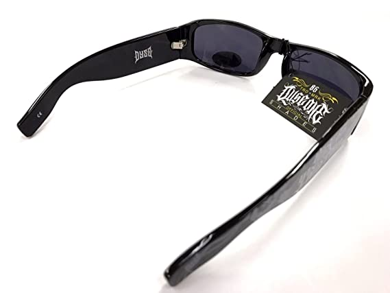 Authentic Dyse One Shades Sick N Twisted Skull Black Sunglasses California Lowrider Style