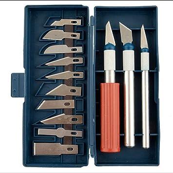 Kit 13 x cuchillos cuchillo punzón punta cincel grabado ...