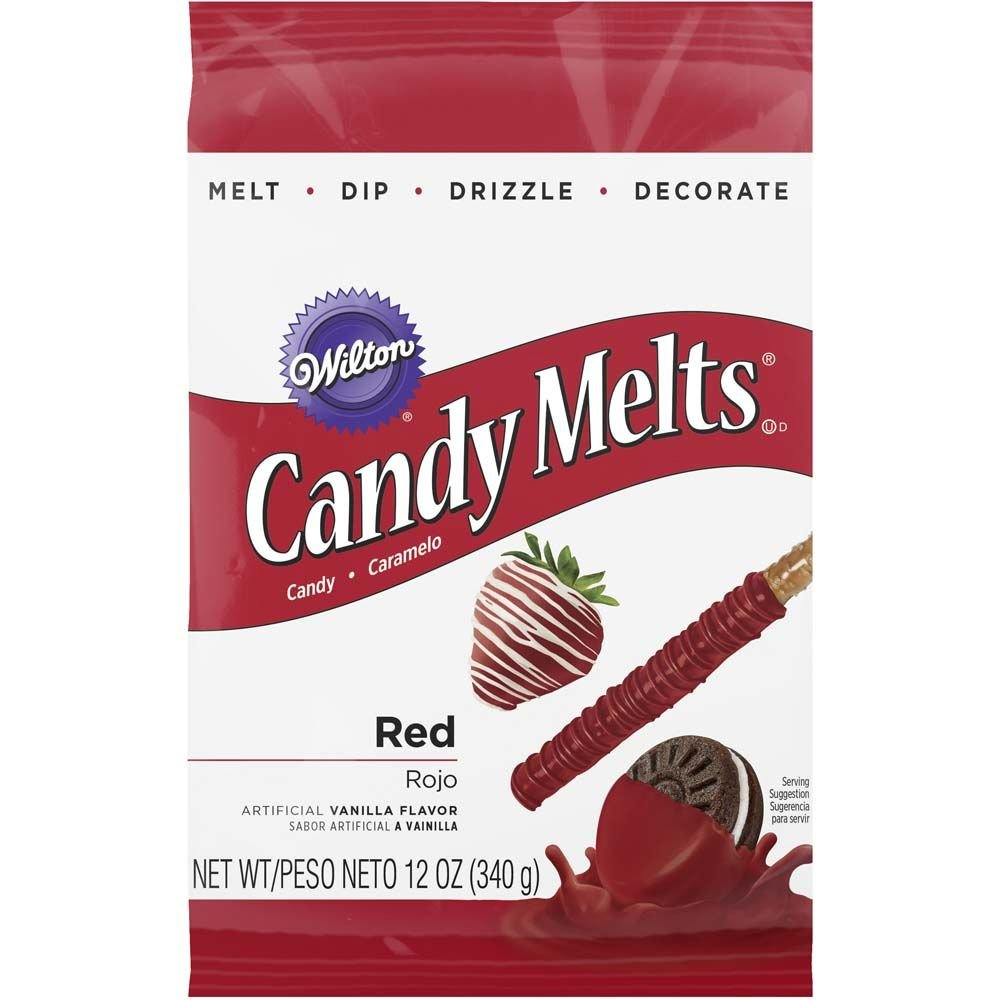 Wilton Red Candy Melts, 12-Ounce
